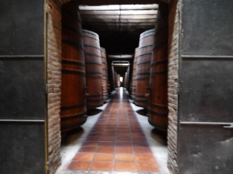 The original maturation barrels